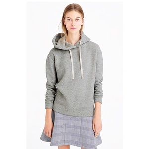 J. Crew Oversized Grey Hoodie Sweater Sweatshirt